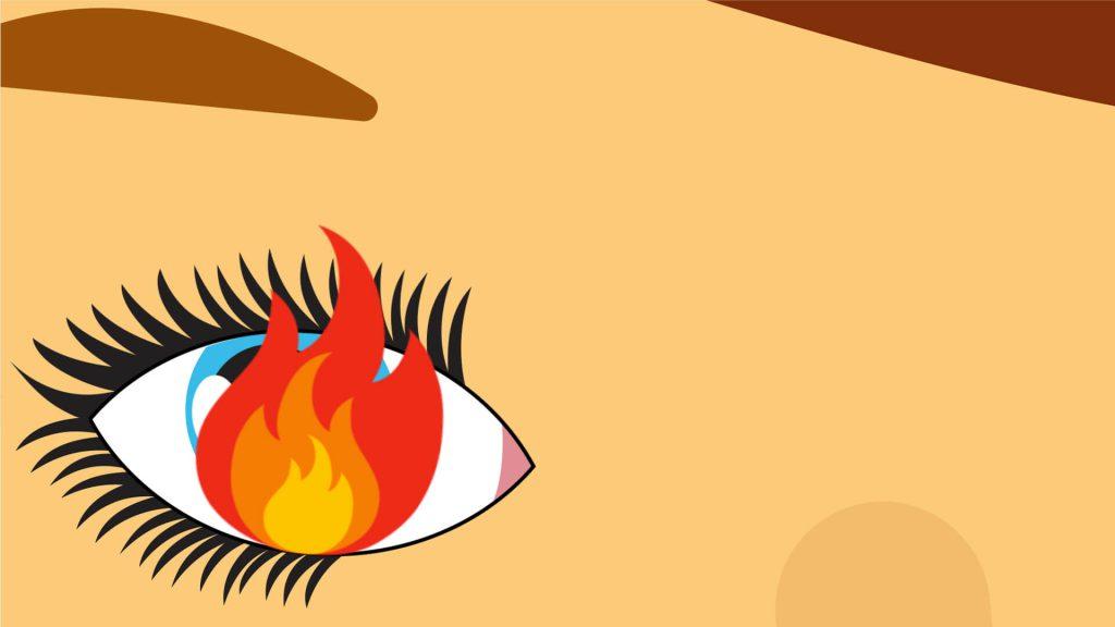 Brûlure oculaire