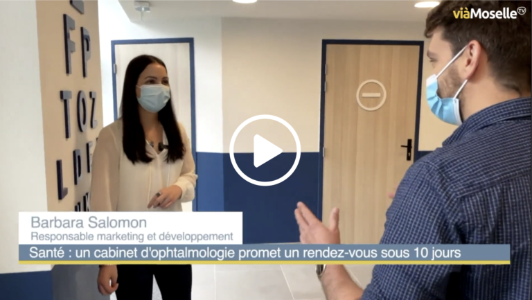video Moselle info representant Ophtalmologie Express