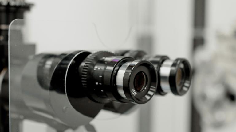photo d'une machine d'ophtalmologue